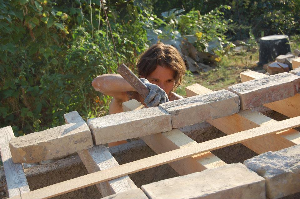 autocostruzione forno a legna cristiano roganti