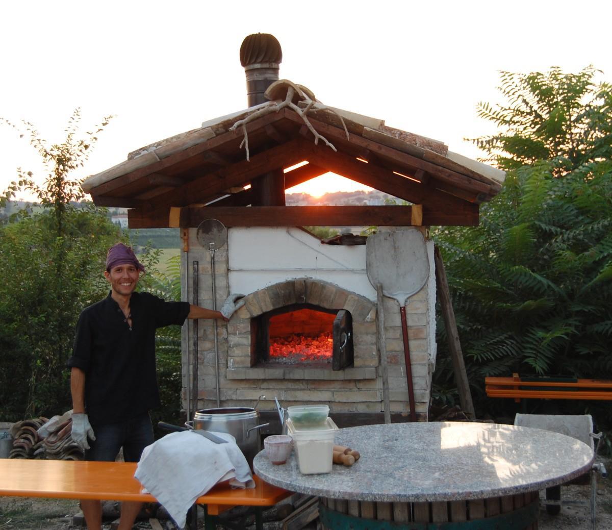 cristiano roganti forno a legna città della luce